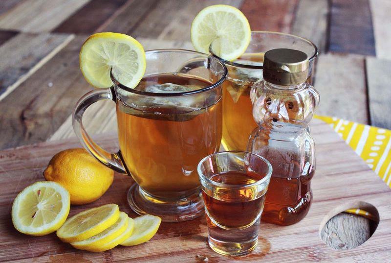 Sweet tea hot toddy abeautifulmess.com