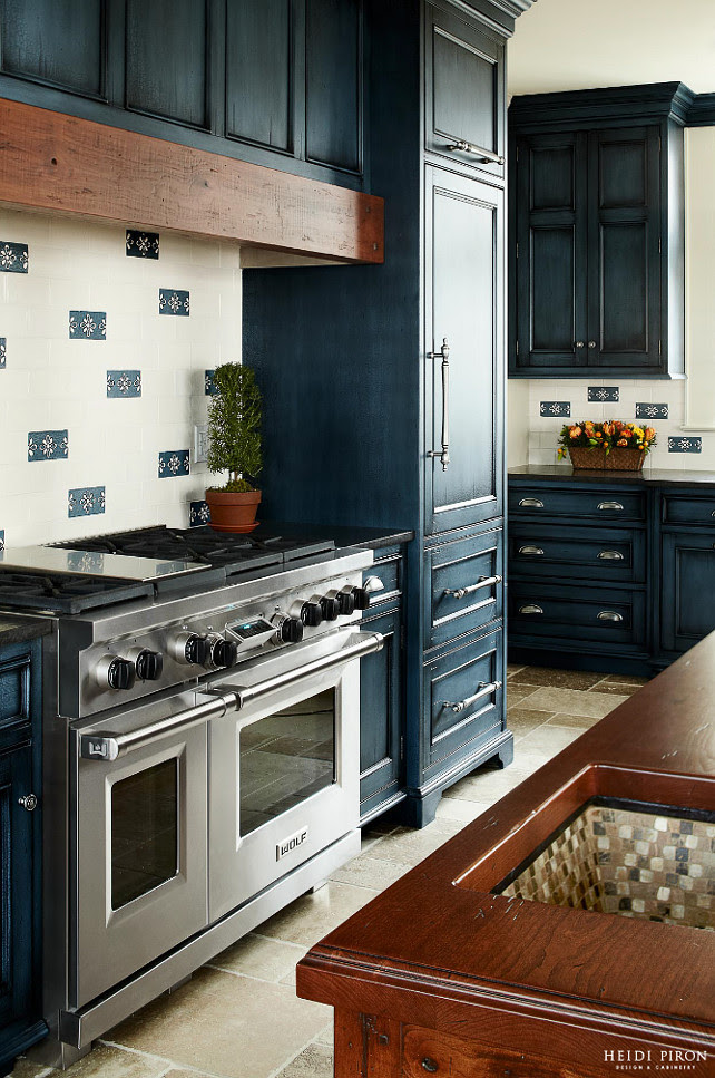 Navy Kitchen Cabinet Paint Color Home Bunch Interior Design Ideas