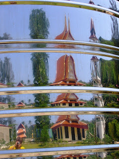 Reflection of Kamala temple
