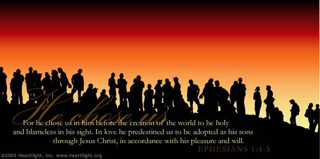 Ephesians 1:4-5 (44 kb)