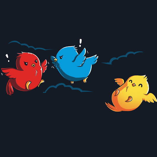Ruffled Feathers | Funny, cute & nerdy shirts – TeeTurtle