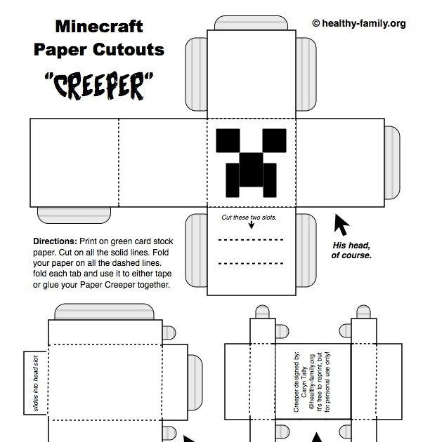 minecraft coloring pages zombie head craft  tripafethna