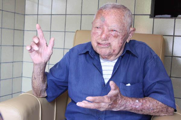 Cícero Gomes de Abreu, 102 anos