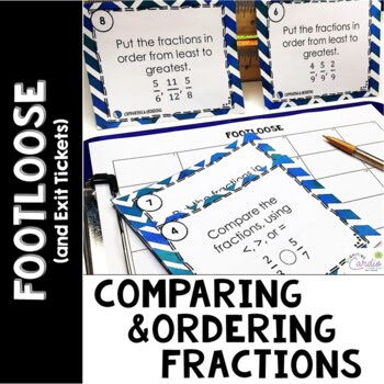 Comparing and Ordering Fractions Footloose