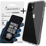 Luvvitt Clear View Case and Liquid Glass Screen Protector Bundle for iPhone 11 2019