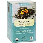 Numi Organic Aged Earl Grey Tea - 18 count, 1.27 oz box