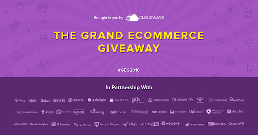 Grand Ecommerce Giveaway & Contest Worth $35,000+