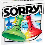 Sorry Board Game, board games