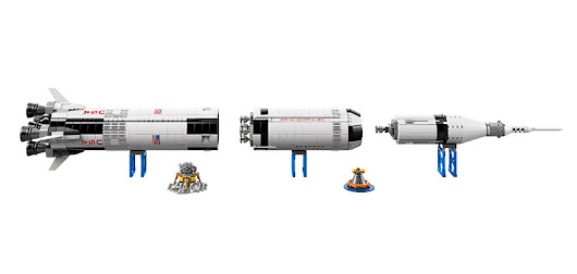 LEGO Apollo Saturn V: Tallest LEGO Ideas Set Ever Made - Universe Today
