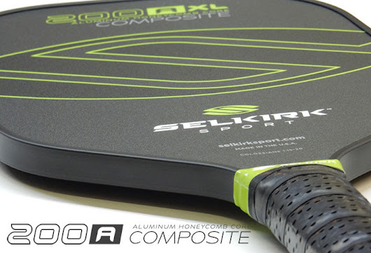 We'd Like to Introduce Our Updated 200A Composite Series Pickleball Paddles—Bigger, Better and Lighter!