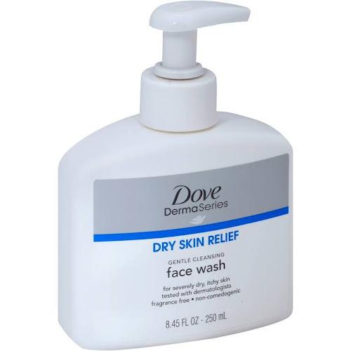 Dove DermaSeries Fragrance-Free Face Wash - 8.45 fl oz bottle