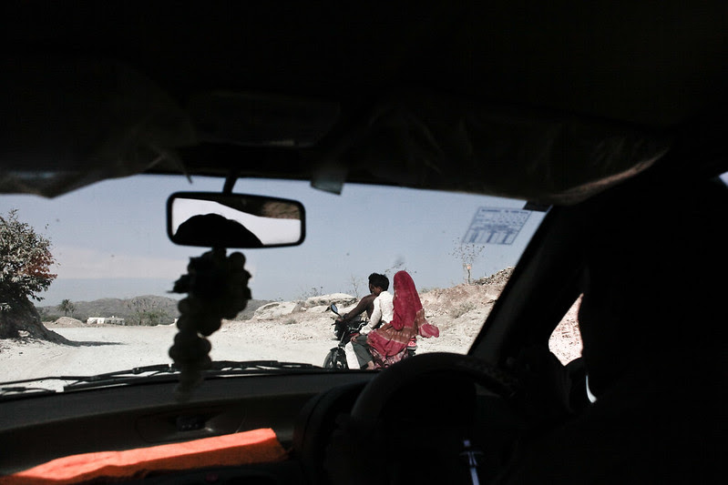On the road in Rajasthan.