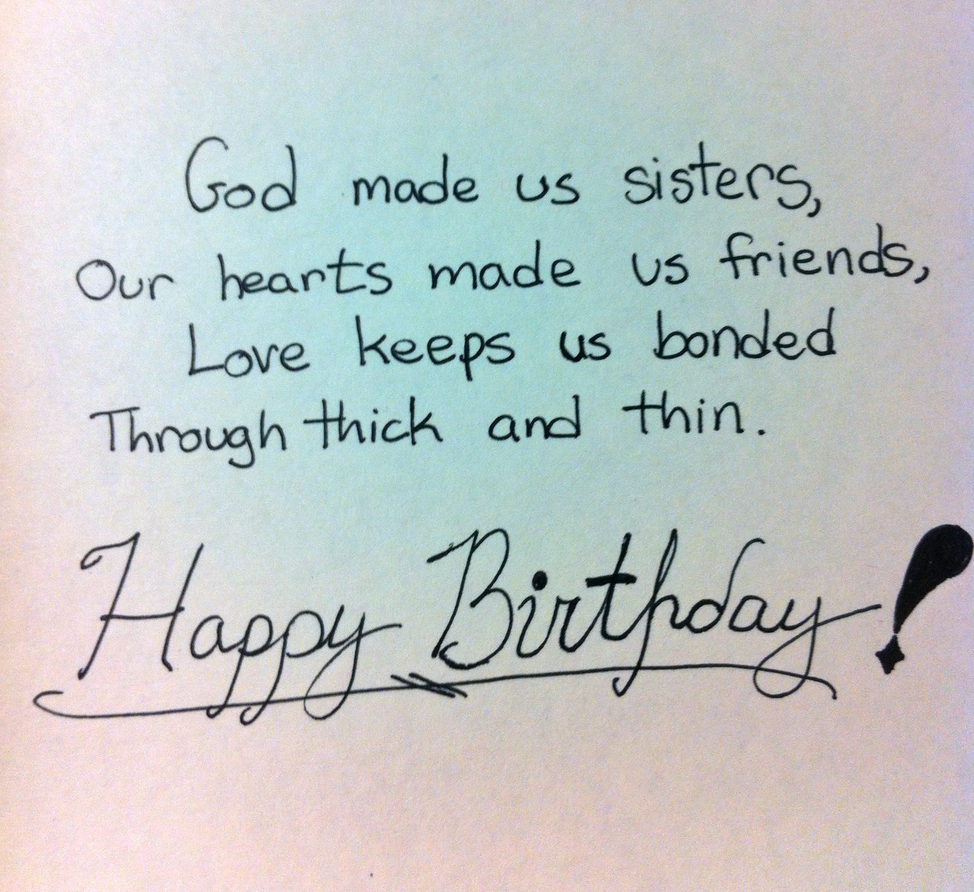 Quotes About My Sister Birthday 28 Quotes