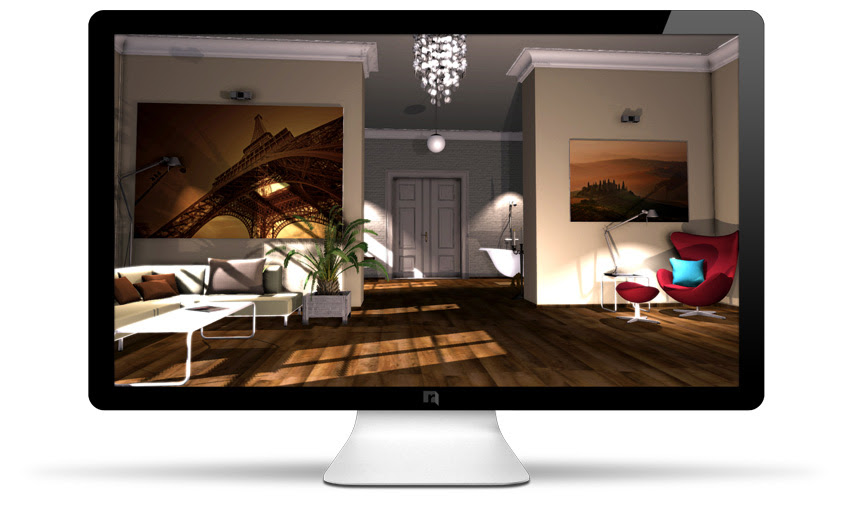 Roomeon The First Easy To Use Interior Design Software Fotorealistic And In 3d