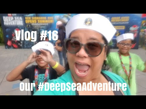 Vlog #16: Our Deep Sea Adventure at Legoland California