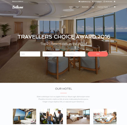 30+ Best Responsive Travel & Hotel WordPress Themes 2016