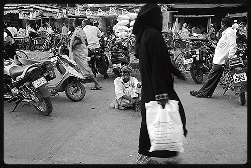 The Quintessential Muslim Hijab And The Irreplaceable Muslim Beggar by firoze shakir photographerno1