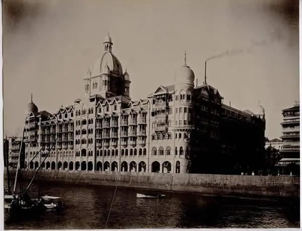 The Taj Mahal Palace Hotel - Bomaby (Mumbai) c1900
