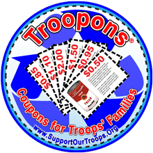 troopons Pay it Forward ~ Donate Your Expired Coupons to the Troops