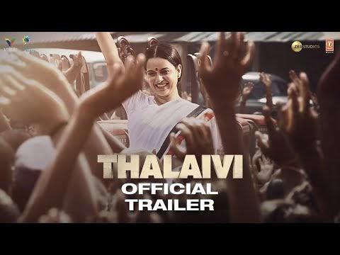 Thalaivi Hindi Movie Trailer