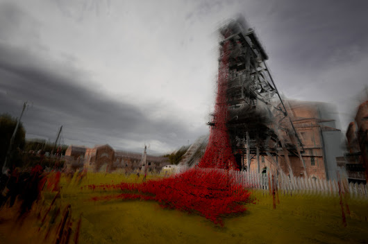 The Weeping Window at Woodhorn Museum