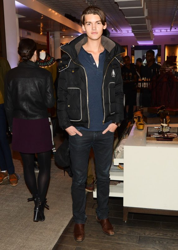 a5 NY - Christian Plauche at the Burberry Eyewear event in New York