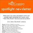 Sun Country Spotlight Newsletter - Patio furniture at Sun Country