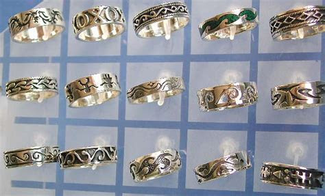 costume jewelry silver wholesale sterling silver wave ring