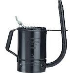 Plews & Lubrimatic 75-662 Measure Liquid 2 Qt Painted Steel Flexible Spout