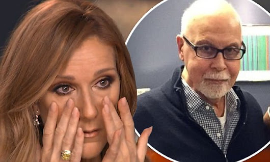 Celine Dion breaks down in tears over husband's cancer battle