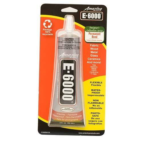 E-6000 Clear Craft Adhesive (2 oz)