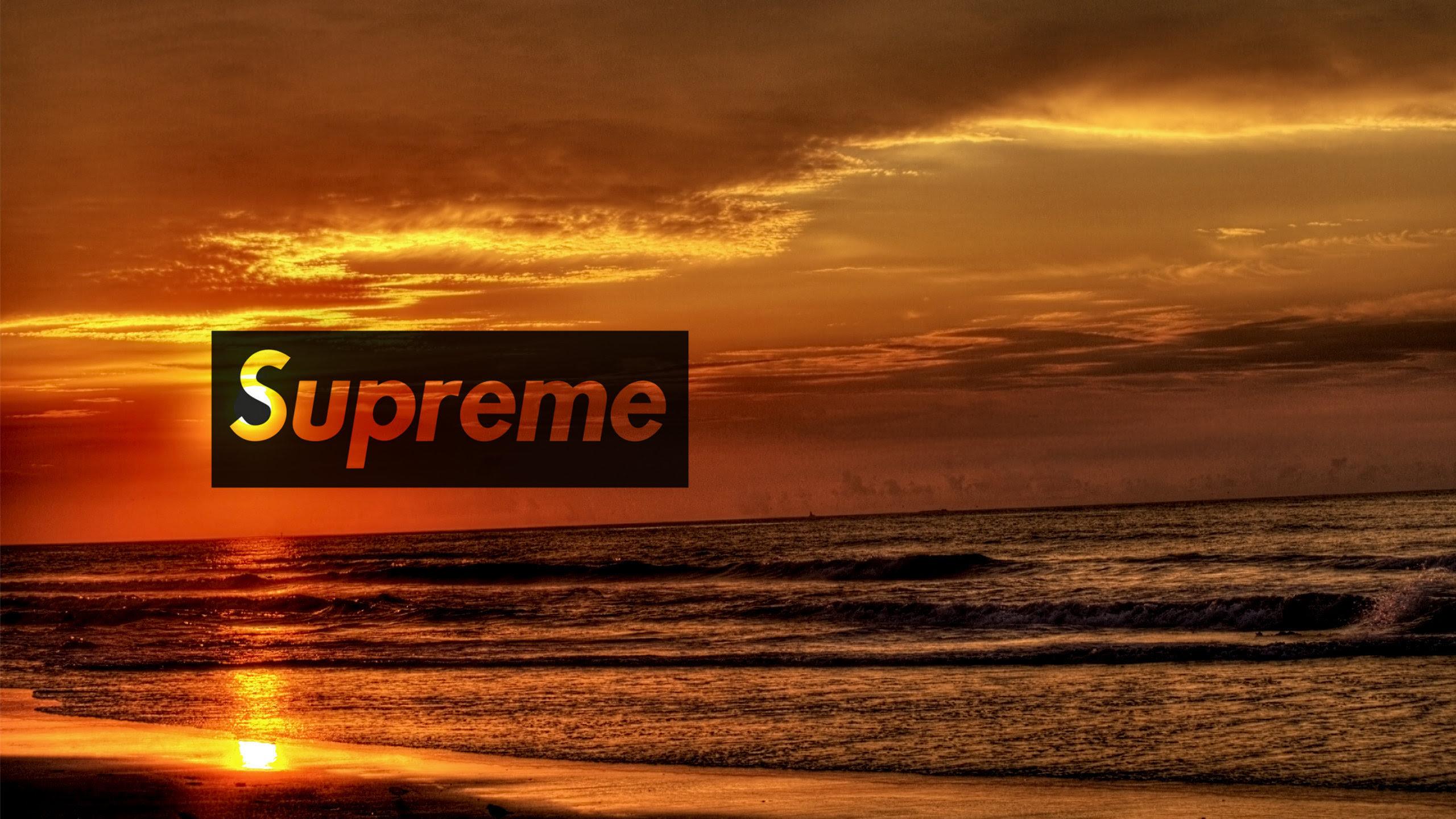 Supreme Sunset Wallpaper - AuthenticSupreme.com