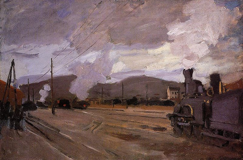 File:Claude Monet - The Gare  d'Argenteuil.jpg