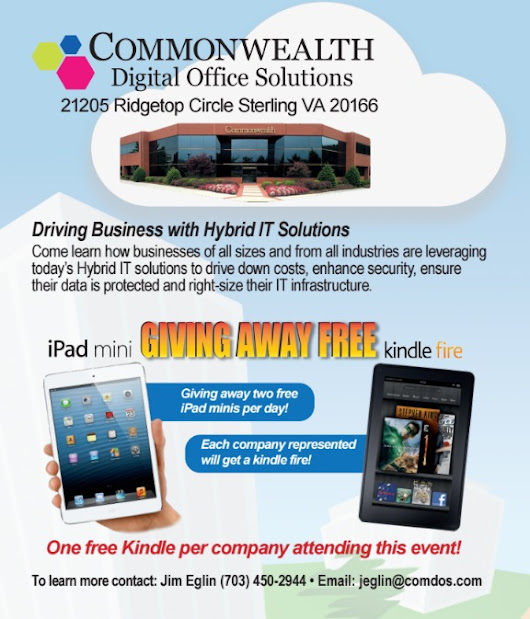 Commonwealth's September Office Technologies Show Highlights Hybrid IT – Commonwealth Digital