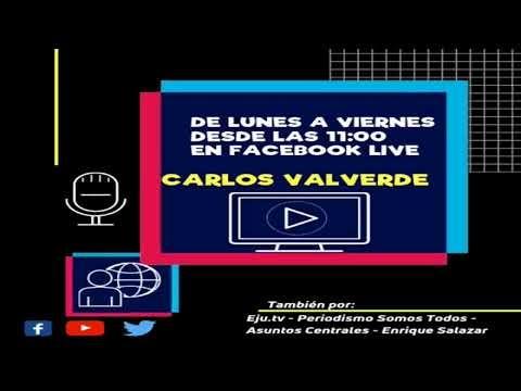 Carlos Valverde en la red: Programa del día jueves 05-12-2019