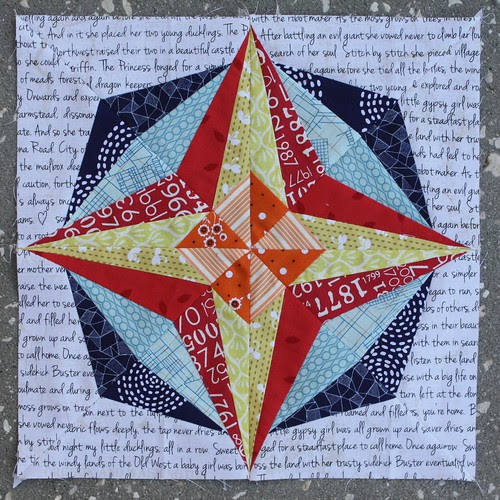 Don't Call Me Betsy: August Lucky Stars Block of the Month: Pinwheel Star