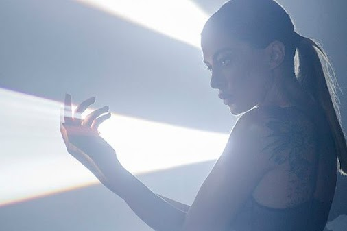 Iveta Mukuchyan lights up in