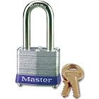 Master Lock No. 3DLF - Padlock - key - 4 pins