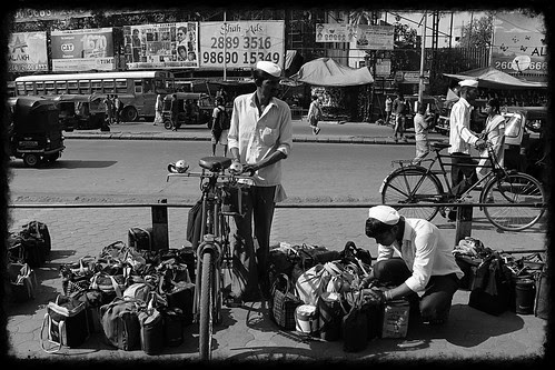 The Dabbawala Delivers Everyone's Tiffin Save His Own by firoze shakir photographerno1