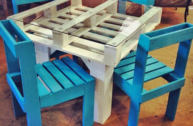 Instructions for Outdoor Pallet Furniture | 99 Pallets