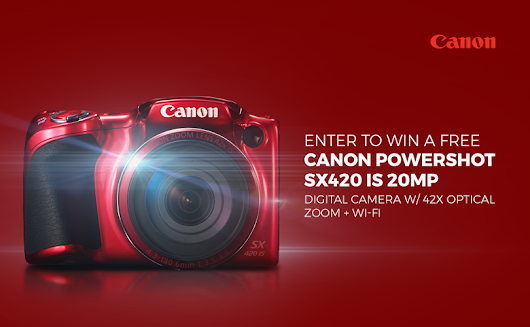 Canon Powershot SX420 Giveaway