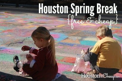 Free and Cheap Spring Break in Houston