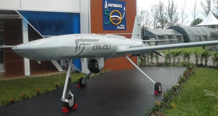 Drone Falcão AVIBRAS 900px