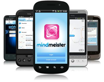 MINDMEISTER: Crear, editar y compartir mapas mentales en línea. También funciona con Google Drive