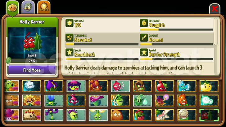 Plants vs. Zombies 2 Unlimited Gems