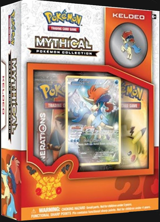 [Pre-Order] Mythical Collection Box Keldeo