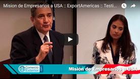 Video 1 Mision de Empresarios a USA