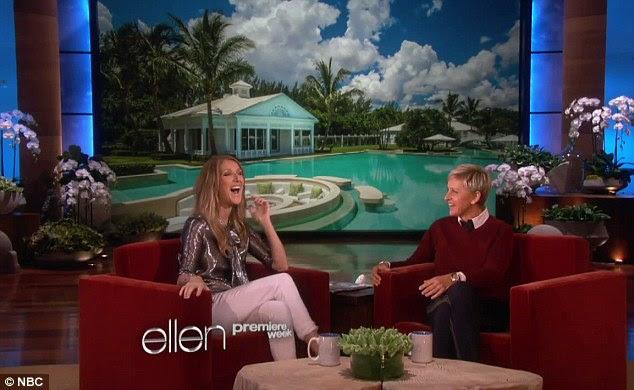 Celine Dion reveals the secrets of the mega closet in her $71M ...