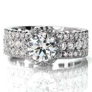 Halo Engagement Rings   Knox Jewelers