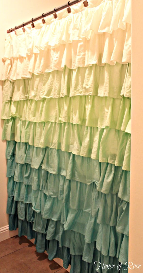 The Ruffle Shower Curtain That Stole My Heart